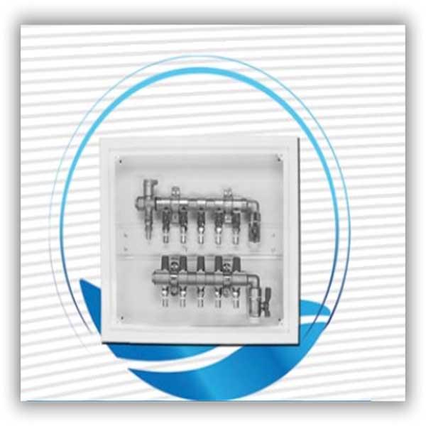جعبه کلکتور ترموستات بدون محرک الکتریکی نیوپایپ