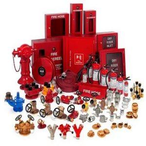انواع تجهیزات لوله کشی آتش نشانی